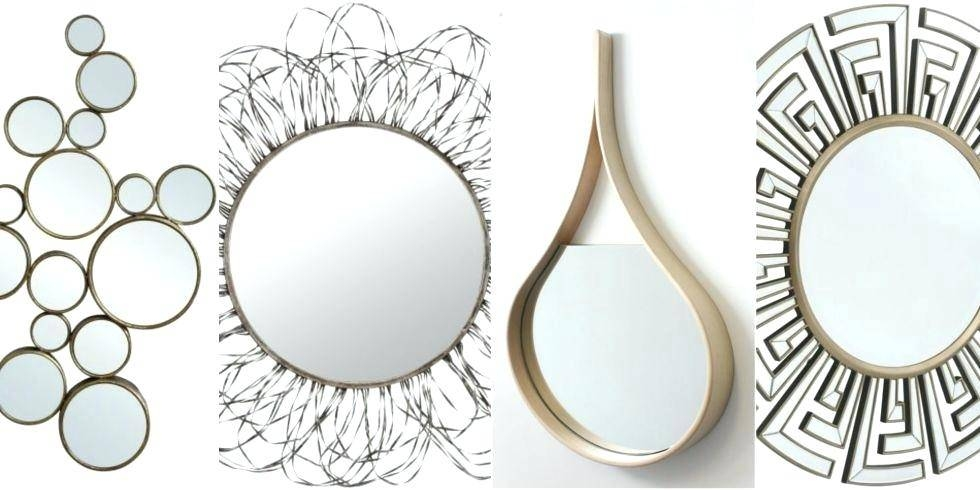 Unusual Shaped Wall Mirrors Uk – Shopwiz With Unusual Shaped Mirrors (#19 of 20)
