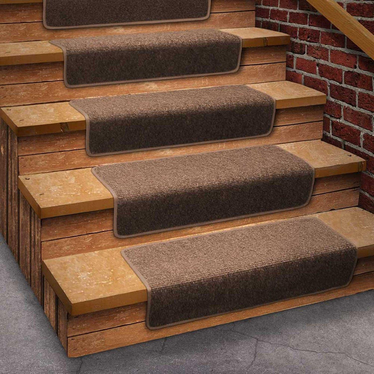 Using Carpet Stair Treads For Safety Reasons Vwho Intended For Stair Tread Rug Covers (#20 of 20)