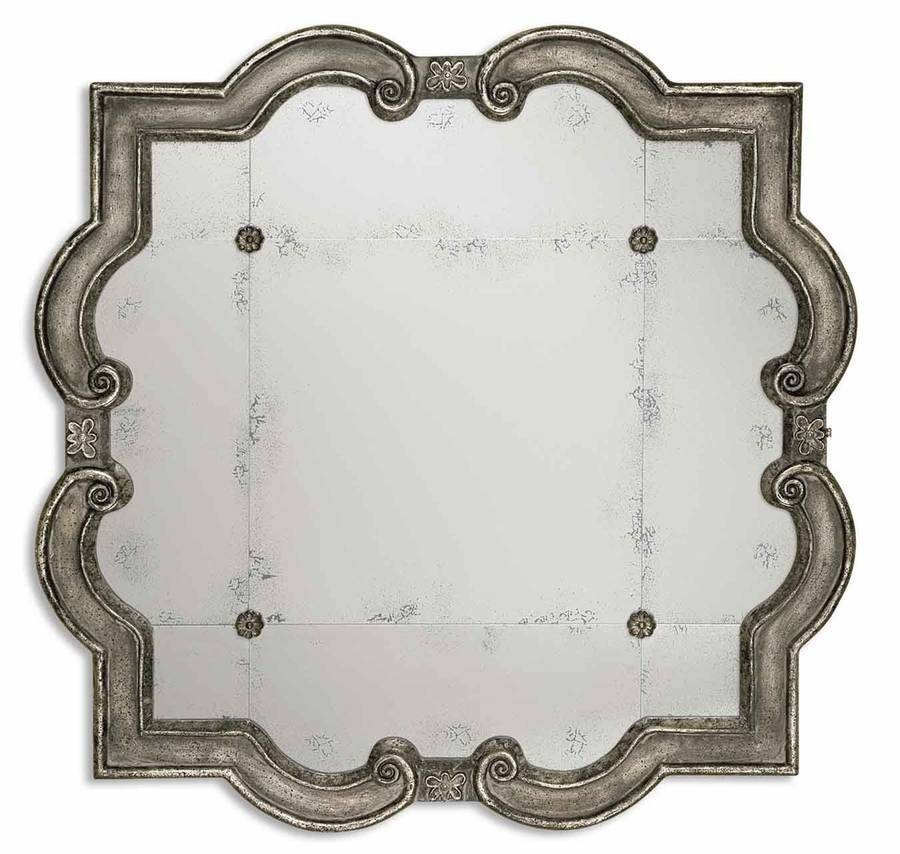 Inspiration about Uttermost (12597 P) Prisca Distressed Silver Mirror Small Within Distressed Silver Mirrors (#20 of 20)