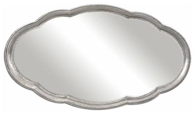 Inspiration about Uttermost 12925 Guadiana Oversized Oval Mirror – Transitional Throughout Oval Mirrors For Walls (#9 of 20)