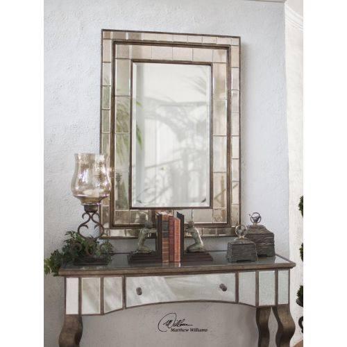 Uttermost Almont Bronze Mosaic Mirror Regarding Bronze Mosaic Mirrors (#30 of 30)