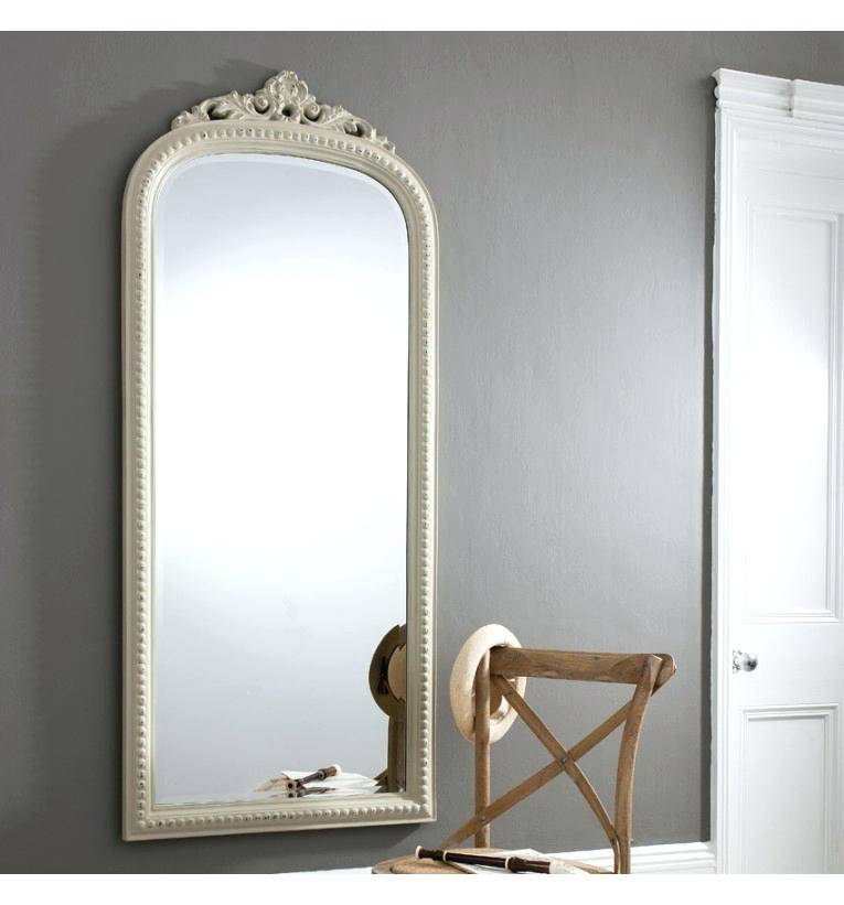 Inspiration about Uttermost Fifi Etched Antique Style Gold Mirror Wall Mirrorswhite With Long Antique Mirrors (#9 of 30)