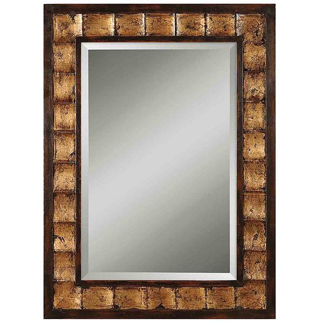 Inspiration about Uttermost Justus Distressed Mahogany Wood Framed Mirror – Free For Distressed Framed Mirrors (#30 of 30)