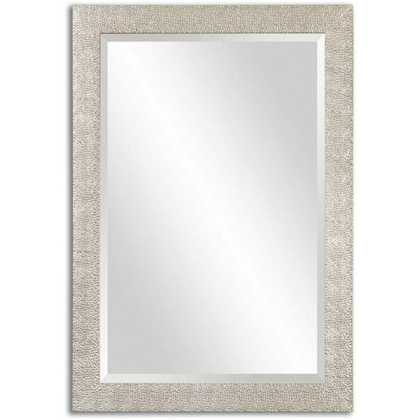Inspiration about Uttermost Porcius Antiqued Silver Bevelled Mirror – Free Shipping With Silver Bevelled Mirrors (#20 of 20)