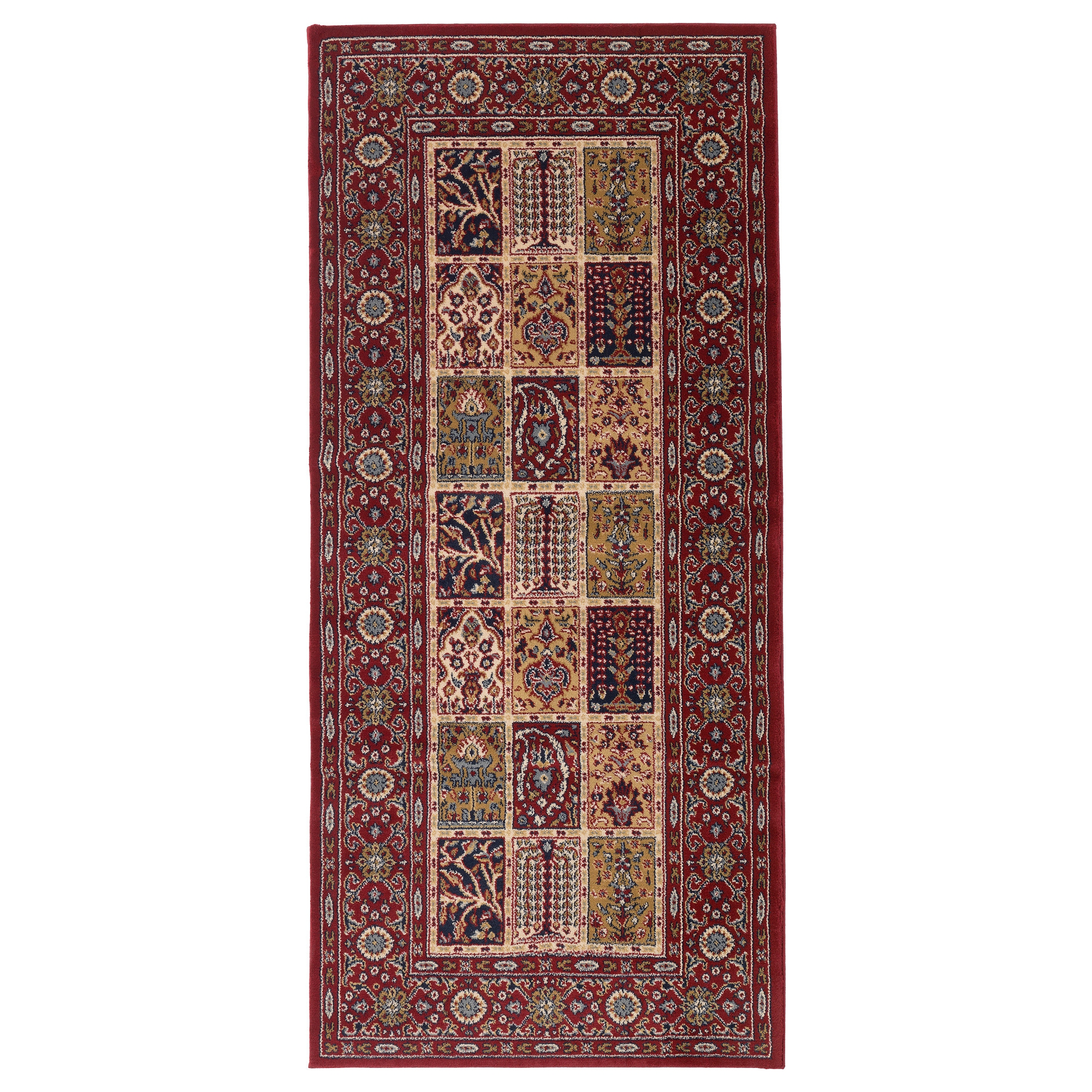 Val Ruta Rug Low Pile Multicolour 80×180 Cm Ikea Within Hallway Runners Ikea (#20 of 20)
