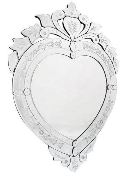 Inspiration about Valentine's Day 2017 – Highly Decorated Heart Shaped Wall Mirrors Throughout Heart Shaped Mirrors For Walls (#27 of 30)