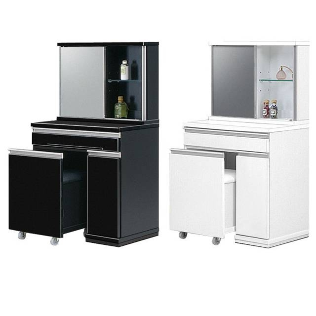 Vanity Dresser With Mirror And Stool ~ Bestdressers 2017 Within Black Dressing Mirrors (View 5 of 20)