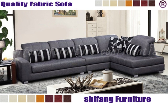 Popular Photo of L Shaped Fabric Sofas