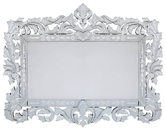 Venetian Giorgia Wall Mirror – Victorian – Wall Mirrors  Rugsville For Rectangular Venetian Mirrors (#20 of 30)