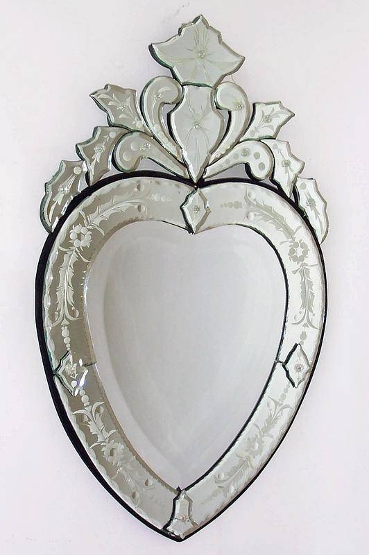 Inspiration about Venetian Heart Shaped Mirror For Sale | Antiques | Classifieds For Heart Venetian Mirrors (#9 of 20)