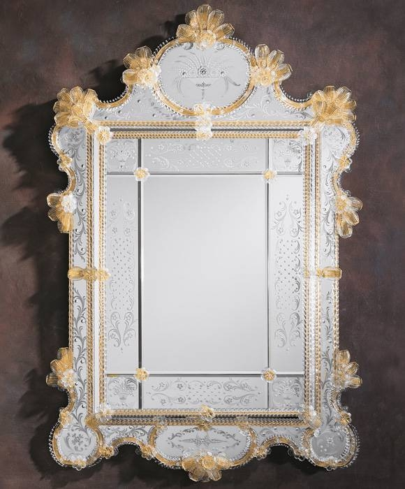 Inspiration about Venetian Mirror And Large Venetian Mirror Regarding Gold Venetian Mirrors (#2 of 20)
