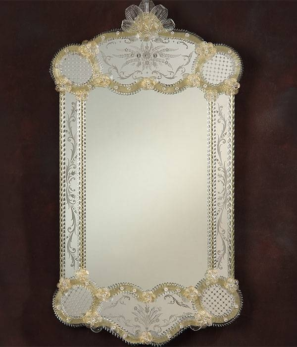 Inspiration about Venetian Mirror And Venetian Glass Mirror Pertaining To Venetian Glass Mirrors (#15 of 15)