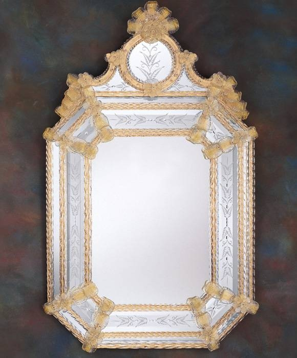 Inspiration about Venetian Mirror And Venetian Murano Glass Mirror In Venetian Glass Mirrors (#2 of 15)