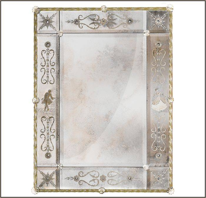Inspiration about Venetian Mirror Centre With Gold Venetian Mirrors (#8 of 20)