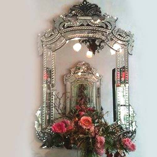 Inspiration about Venetian Mirror – Color Venetian Mirror, Wooden Frame Mirror Inside Long Venetian Mirrors (#13 of 20)