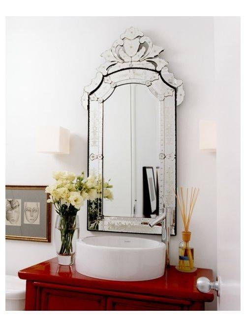 Inspiration about Venetian Mirror | Houzz Pertaining To Venetian Bathroom Mirrors (#10 of 20)