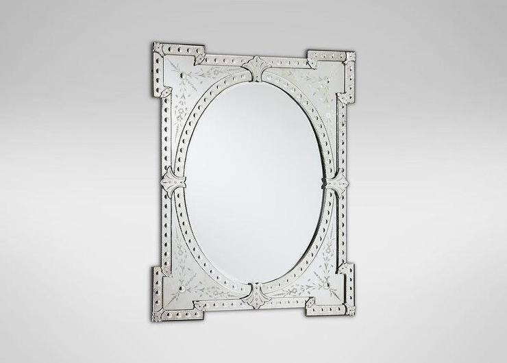 Venetian Mirror In Rectangular Venetian Mirrors (#22 of 30)
