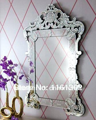 Venetian Mirror Large – Shopwiz For Venetian Style Wall Mirrors (#15 of 20)