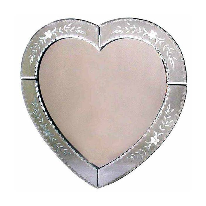 Inspiration about Venetian Mirror Regarding Heart Venetian Mirrors (#20 of 20)