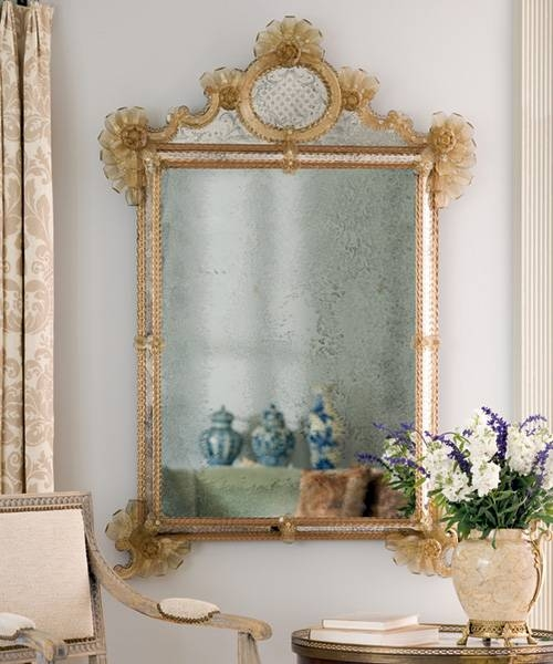 Venetian Mirrors And About Venetian Glass Mirrors Within Venetian Antique Mirrors (View 3 of 20)
