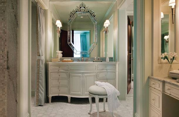 Inspiration about Venetian Mirrors Archives – Design Chic Design Chic Regarding Venetian Bathroom Mirrors (#5 of 20)