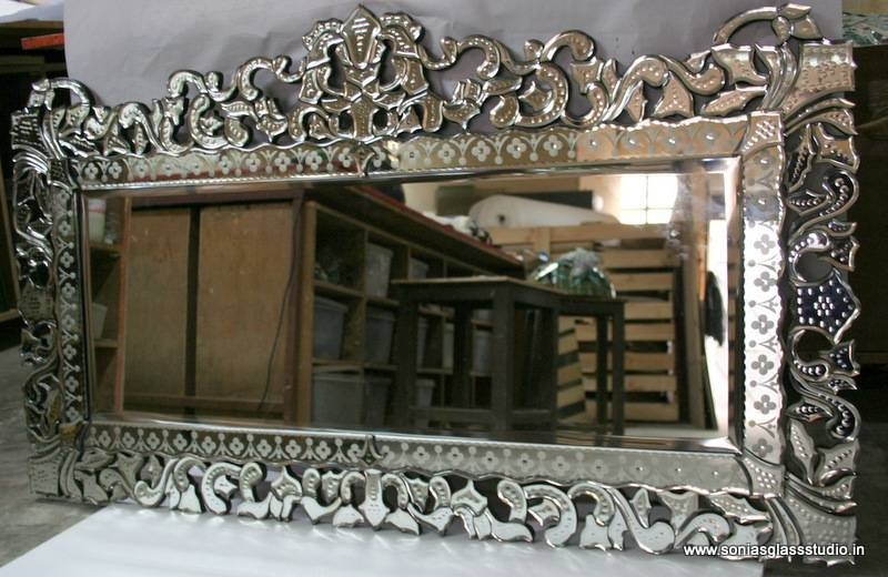 Inspiration about Venetian Mirrors – Sonia's Glass Studiosonia Sareen | India's Pertaining To Cheap Venetian Mirrors (#4 of 30)