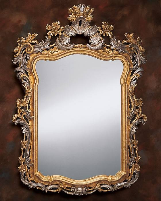 Venetian Style Mirror And Venetian Wall Mirror For Gold Antique Mirrors (#19 of 20)