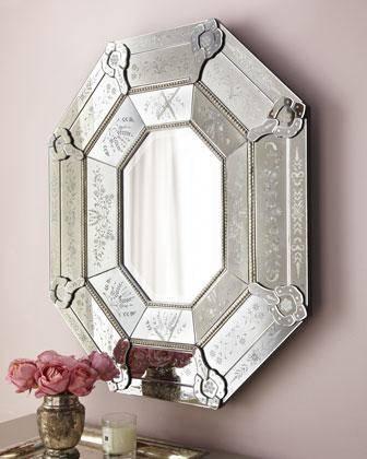 Venetian Style Mirror – Neiman Marcus In Venetian Style Mirrors (#28 of 30)
