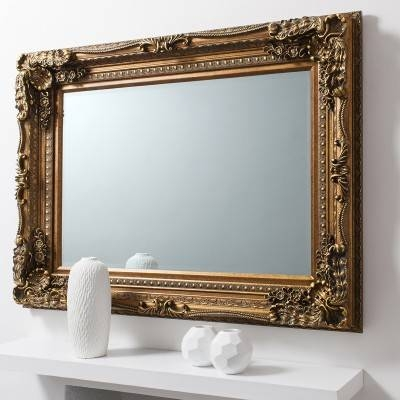 Versailles Baroque Mirror From £249 – Luxury Wall Mirrors | Ashden Regarding Gold Baroque Mirrors (#30 of 30)
