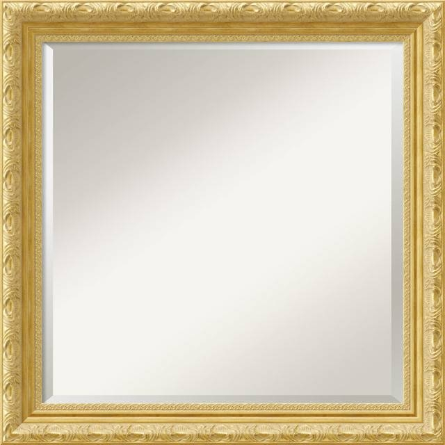 Inspiration about Versailles Square Wall Mirror – Traditional – Wall Mirrors – For Square Gold Mirrors (#6 of 20)