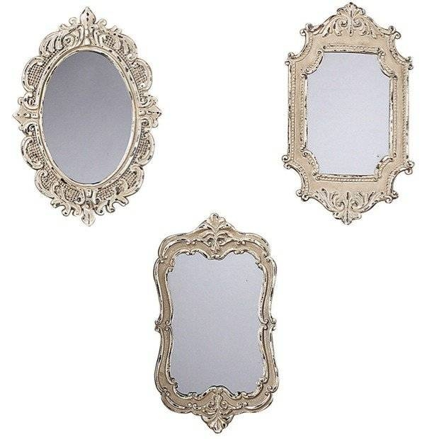 Victorian Inspired Mirrors, Set Of 3 | Antique Farmhouse Intended For Victorian Mirrors (#25 of 30)