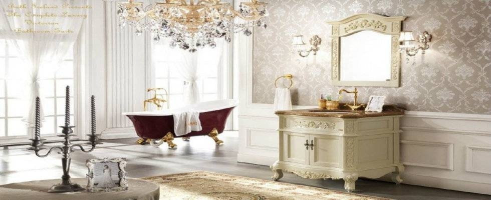 Inspiration about Victorian Style Bathroom Design Ideas | Maison Valentina Blog Pertaining To Victorian Style Mirrors For Bathrooms (#14 of 20)