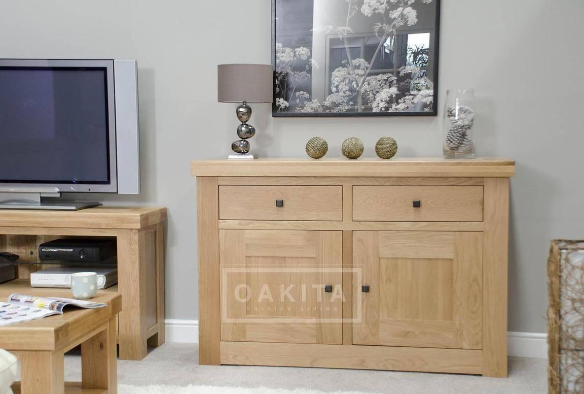 Vienna Light Oak Sideboard – Oak Sideboards – Oak Furniture – Oakita Inside Light Oak Sideboards (View 14 of 20)