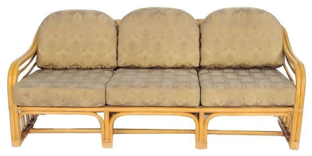 Vintage 1960s Restored Bamboo Sofa 1200 Est Retail 595 On Inside Bambo Sofas (View 13 of 15)