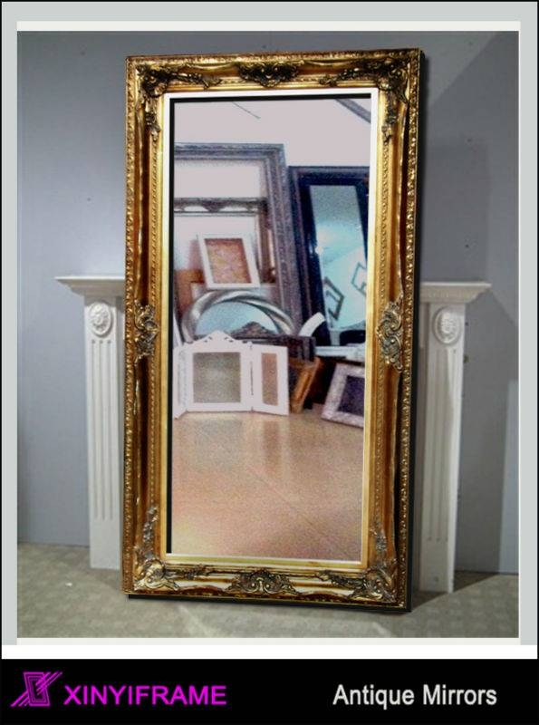 Vintage Antique Free Standing Mirror Safety Backed Mirror – Buy Inside Vintage Free Standing Mirrors (#26 of 30)