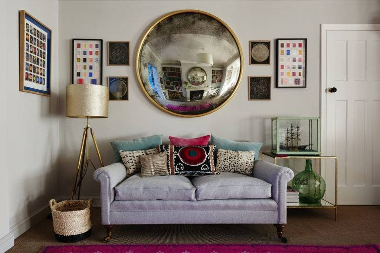 Inspiration about Vintage Bespoke Wall Mirrors London Company Reid & Wright Inside Convex Wall Mirrors (#8 of 30)