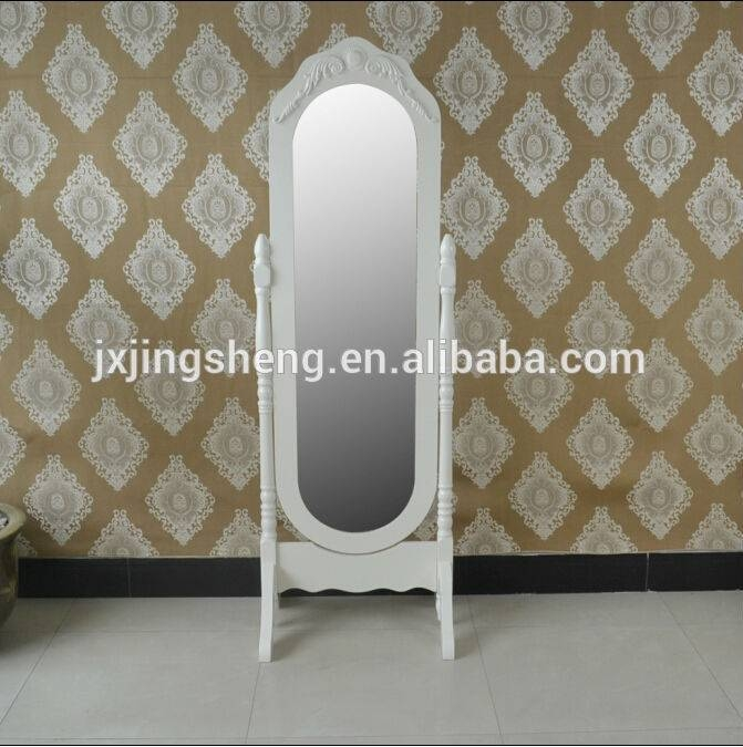 Vintage Dressing Mirror Designs Wooden Easily Assemble For Bedroom For Vintage Free Standing Mirrors (#27 of 30)