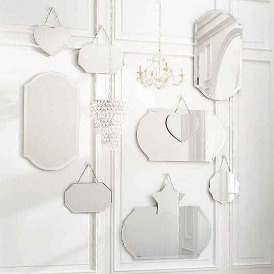 Inspiration about Vintage Frameless Mirrors | Pbteen Throughout Vintage Frameless Mirrors (#3 of 30)