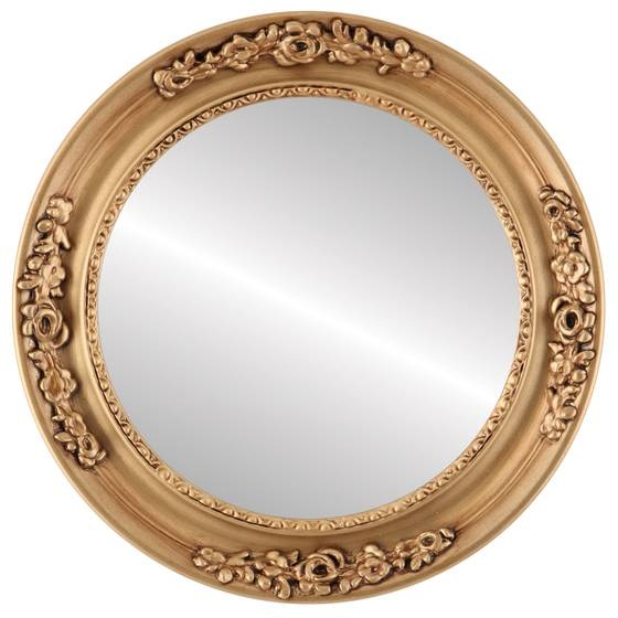 Vintage Gold Round Mirrors From $146 | Free Shipping With Regard To Vintage Gold Mirrors (#29 of 30)