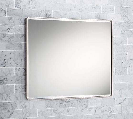 Inspiration about Vintage Large Mirror | Pottery Barn Within Vintage Large Mirrors (#4 of 30)