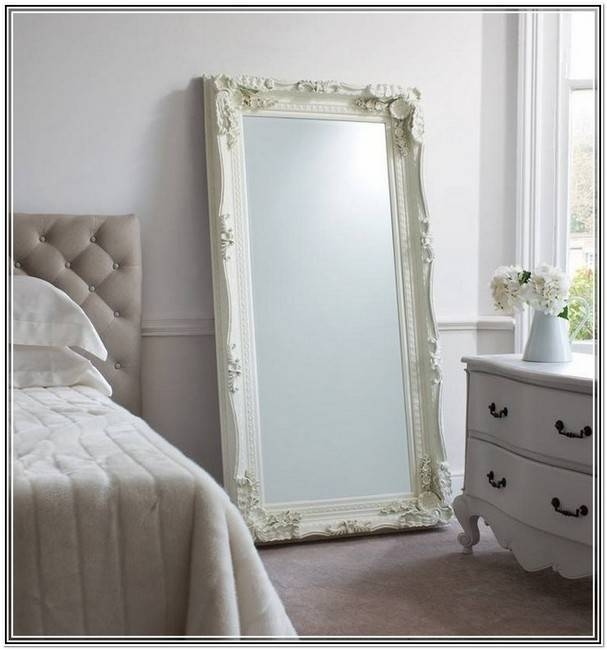 Inspiration about Vintage Large Mirror Silver. 7 Framesshabby Chic Vintage Empty In Large White Antique Mirrors (#4 of 30)