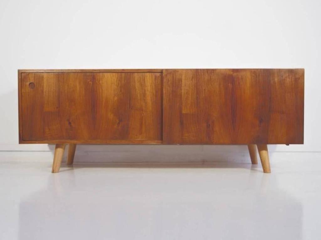 Vintage Low Sideboardib Kofod Larsen For Faarup Møbelfabrik Pertaining To Low Sideboards (View 7 of 20)