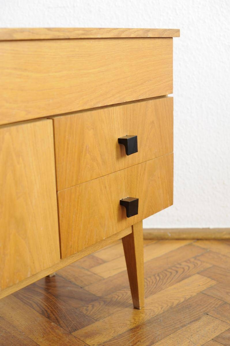 Vintage Modernist Sideboard With Beech Veneer For Sale At Pamono With Regard To Beech Sideboards (#20 of 20)