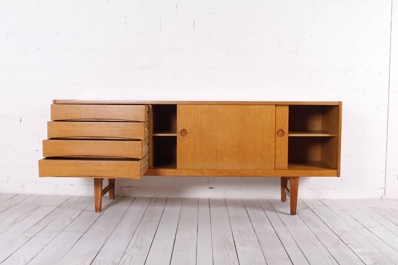 Vintage Oak Sideboard, 1950S For Sale At Pamono Within Oak Sideboards (#19 of 20)