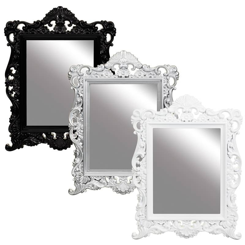 Vintage Ornate Mirror | Bedroom Accessories – B&m Stores With Regard To Black Ornate Mirrors (#29 of 30)