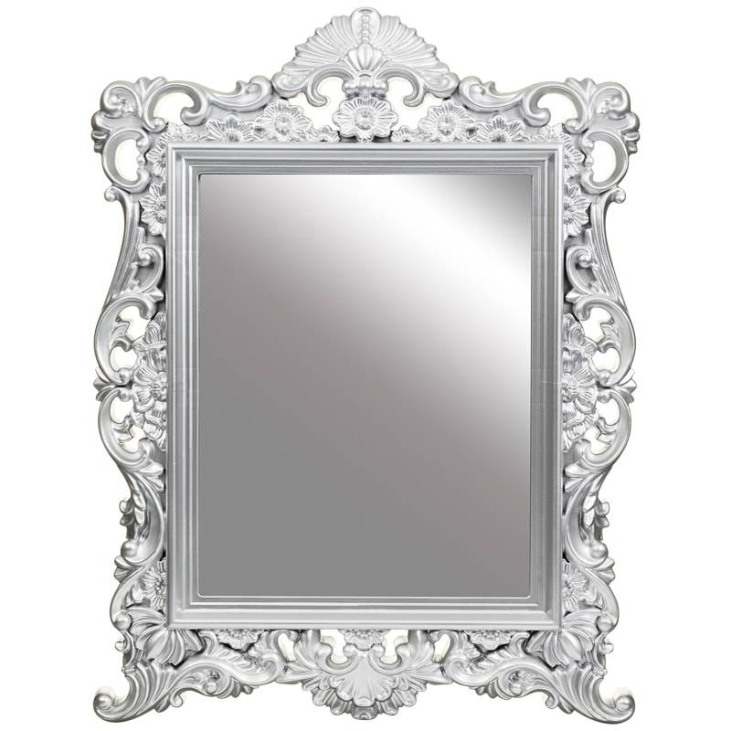 Vintage Ornate Mirror | Bedroom Accessories – B&m Stores Within Silver Ornate Mirrors (#30 of 30)