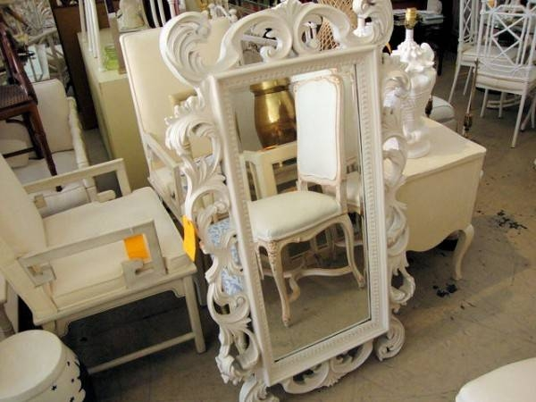 Inspiration about Vintage Rococo Mirror | Circa Who In Large White Rococo Mirrors (#18 of 30)
