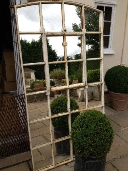 Vintage Slow Arch Garden Window Mirror Garden Window Factory Throughout Garden Window Mirrors (#19 of 20)