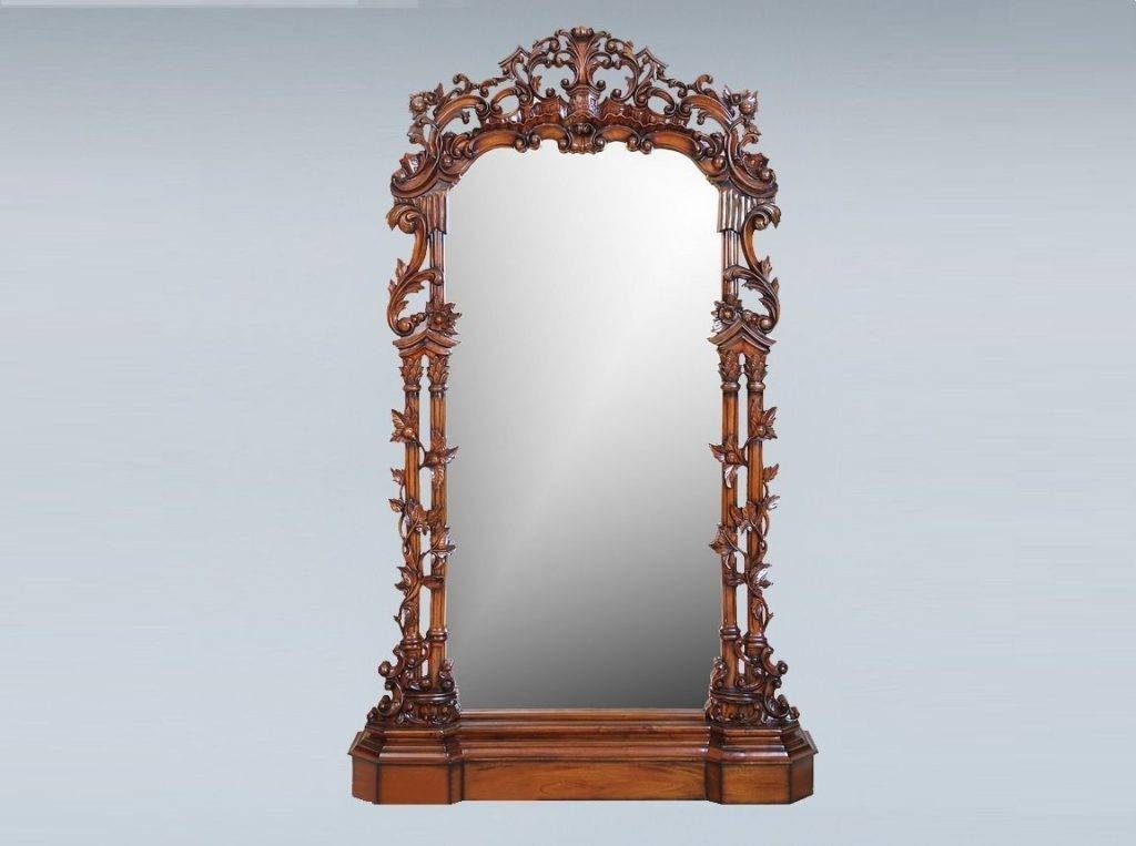 Vintage Standing Mirror | Inovodecor For Victorian Standing Mirrors (View 28 of 30)