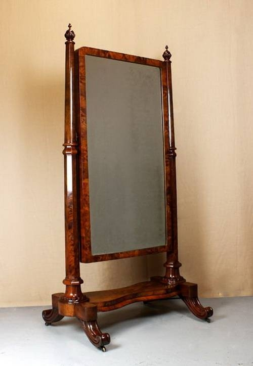Vintage Standing Mirror | Inovodecor Within Vintage Free Standing Mirrors (#29 of 30)
